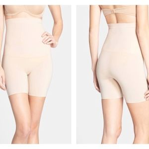 Spanx 'Shape My Day' High Waist Mid Thigh Shaper L